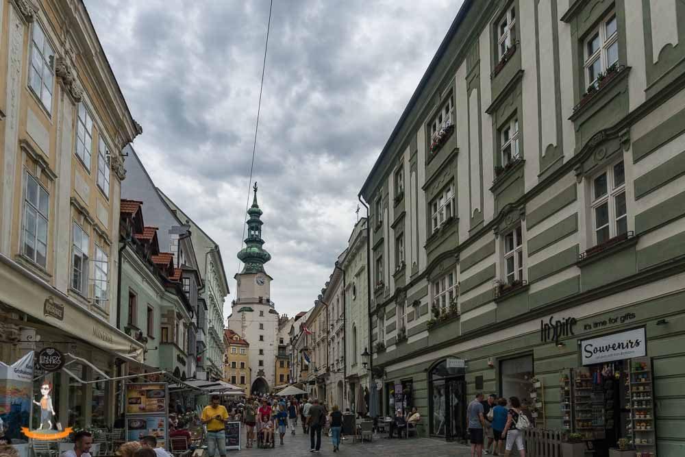 Donau Flusskreuzfahrt Bratislava