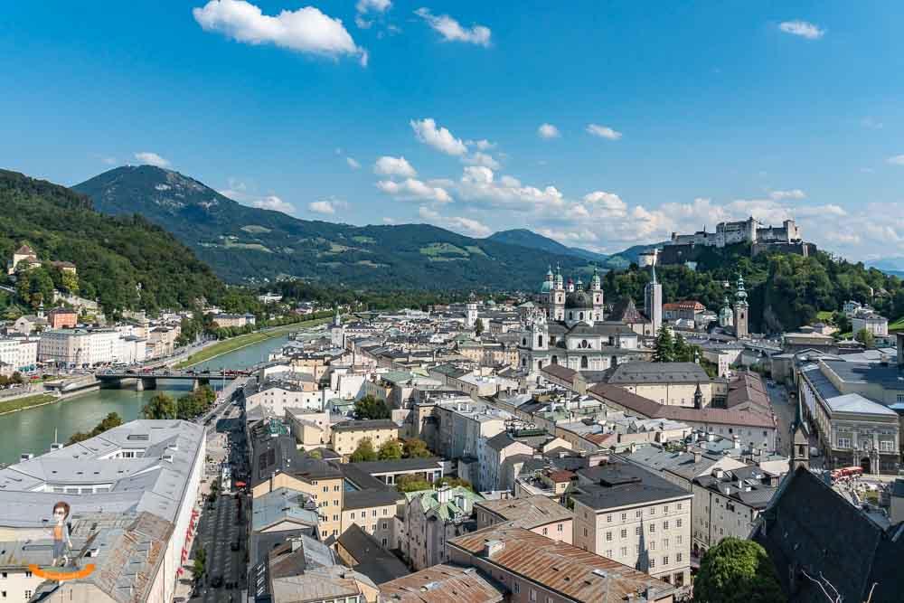 Donau Flusskreuzfahrt Salzburg
