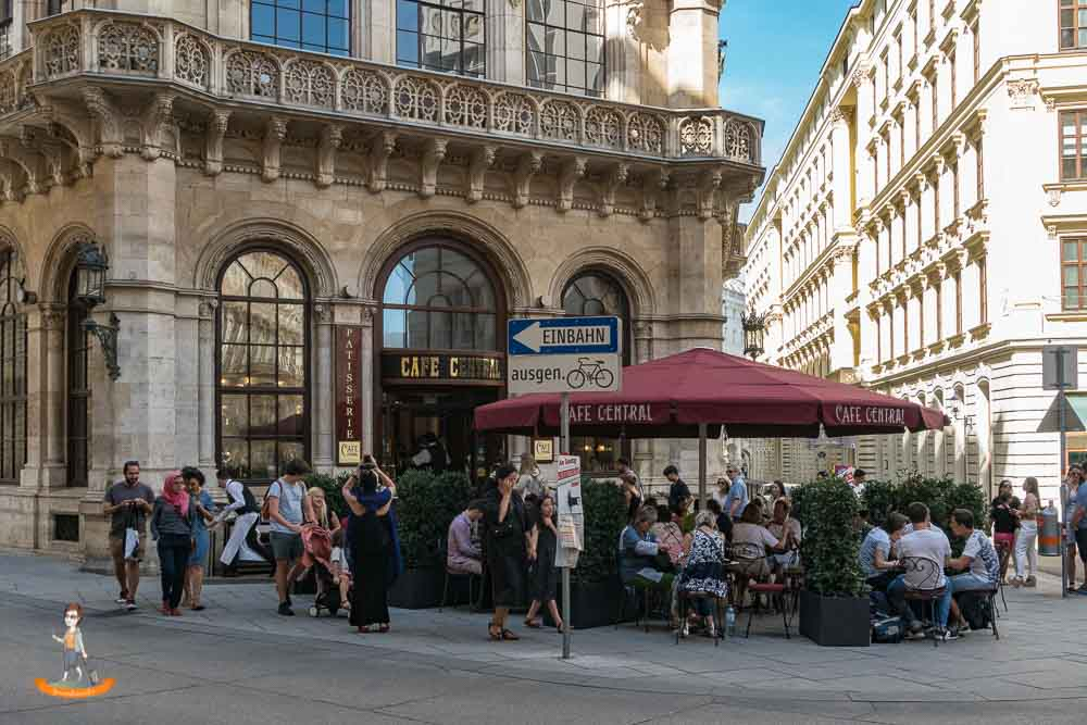 Wochenende in Wien Cafe Central