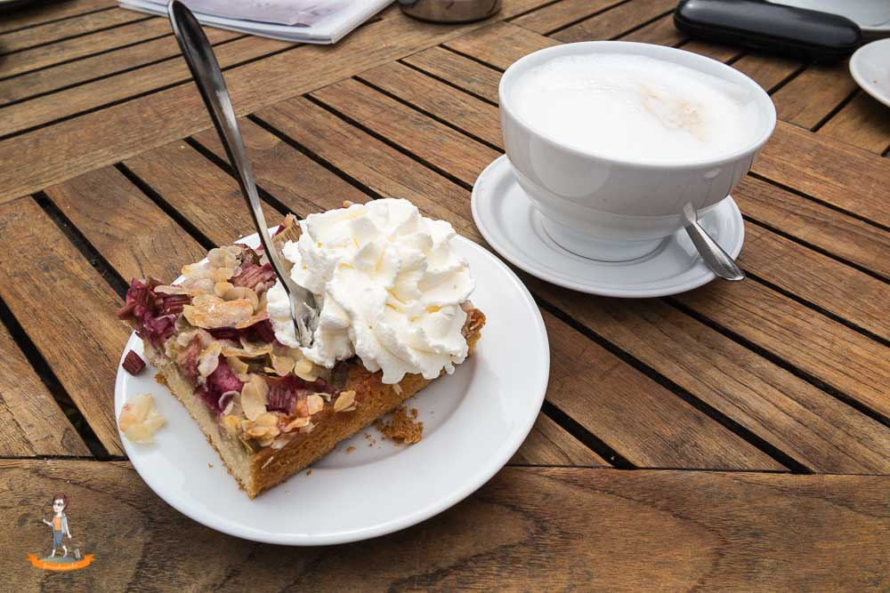 Cafes Sylt Kupferkanne