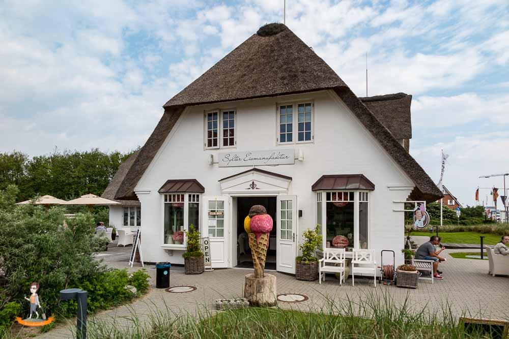 Cafes Sylt Lister Eismanufaktur
