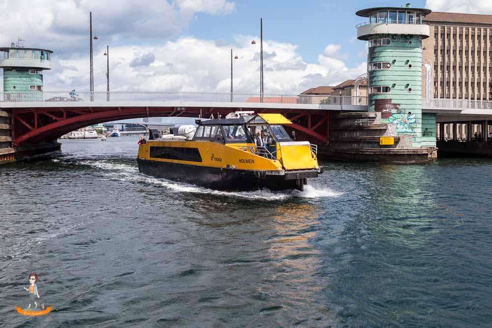 Kopenhagen Sehenswürdigkeiten Reisetipps Hafenbus