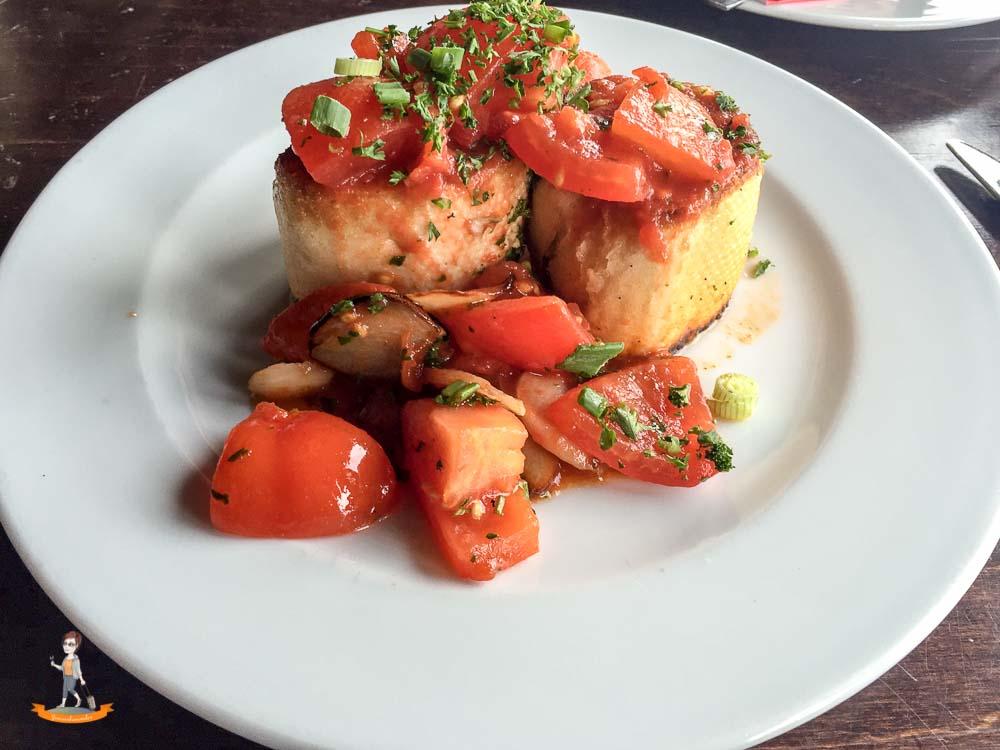 Restaurant Sylt Osteria Tomatenbrot