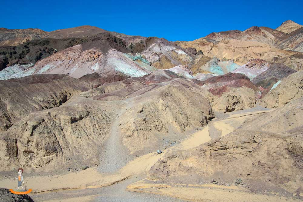 Death Valley Nationalpark Artist Palette