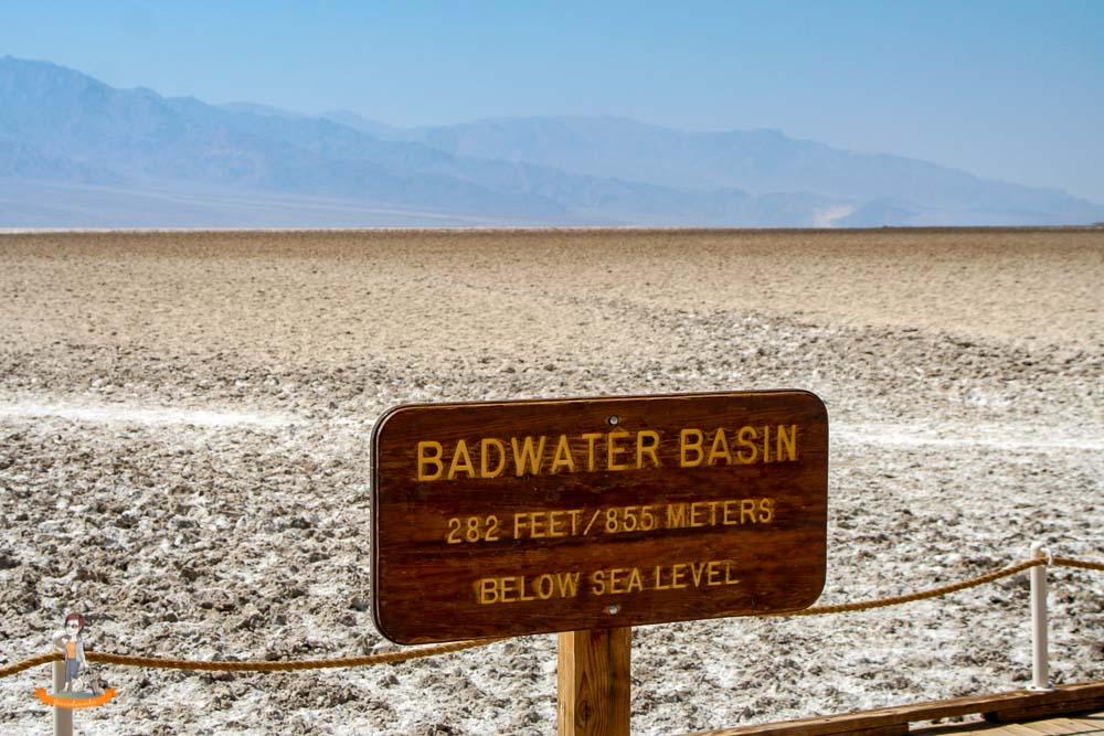 Death Valley Nationalpark Badwater Basin