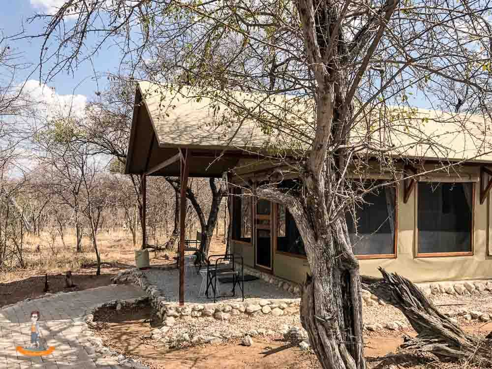 Etosha Nationalpark Namibia Mushara Bush Camp