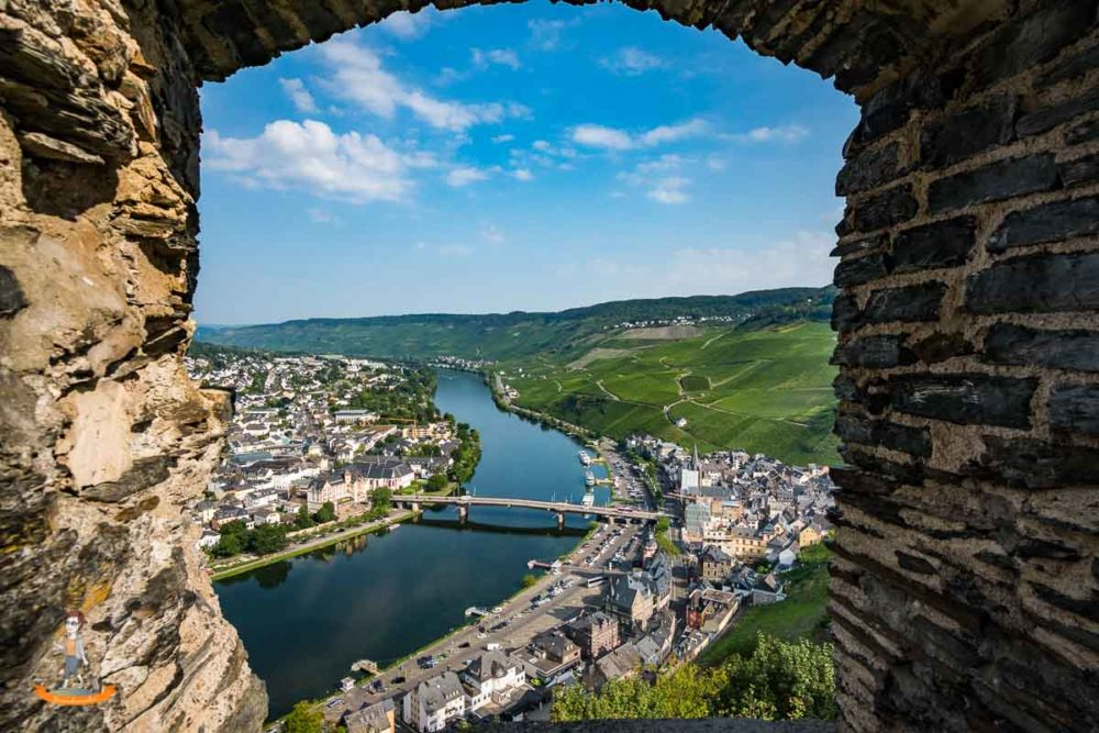 Fotoparade Mosel Burg