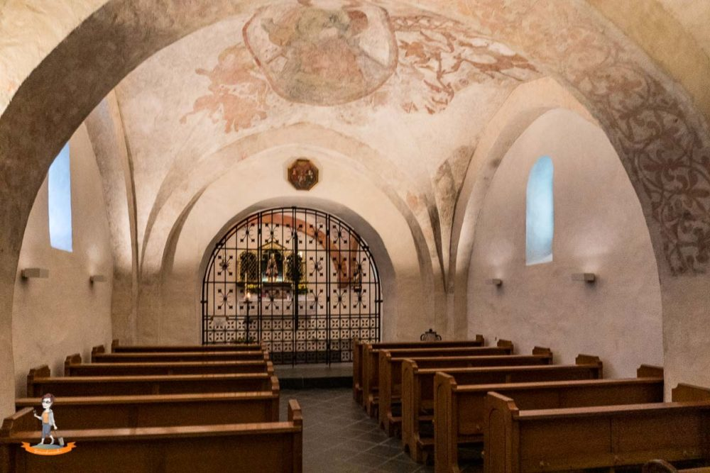 Sauerland Seelenorte Unterkirche Hallenberg