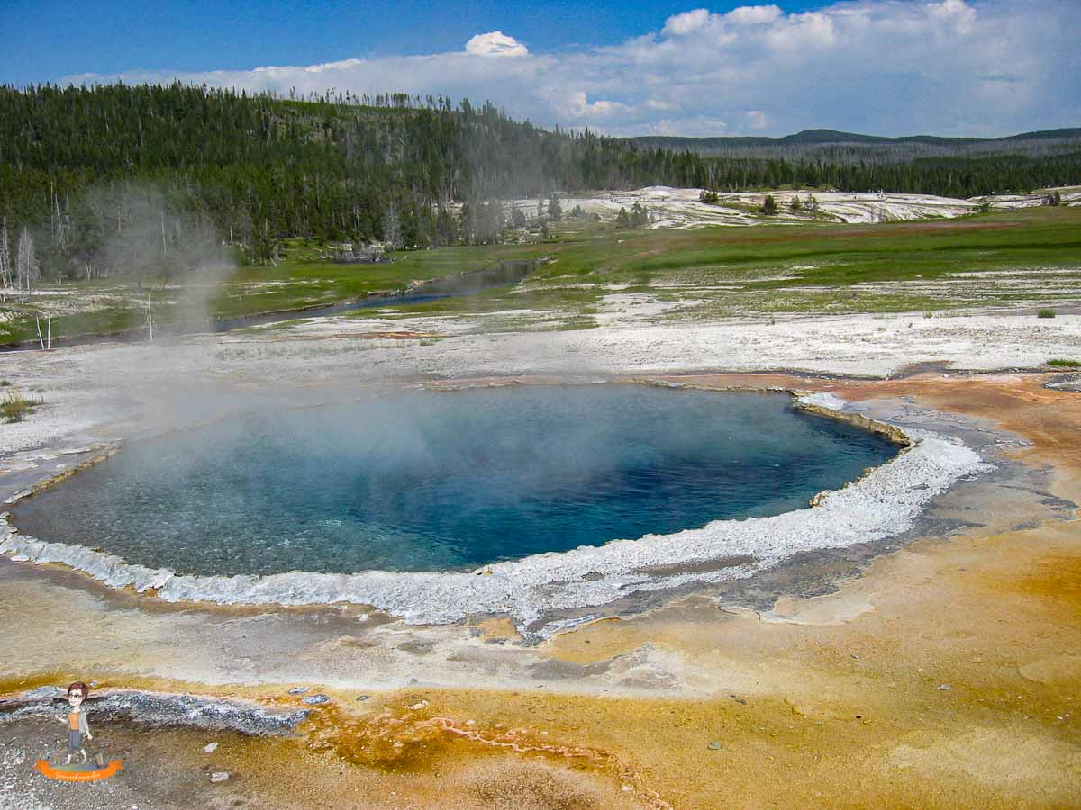 Yellowstone Nationalpark USA Westen